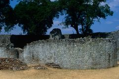The Great Zimbabwe ruins Royalty Free Stock Image