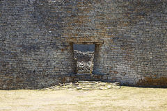 Great Zimbabwe ruins. Detailed entrance to the great Zimbabwe ruins Royalty Free Stock Photos