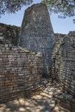 Great Zimbabwe ruins. Part of the great Zimbabwe ruins Stock Images