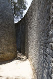 Great Zimbabwe ruins. Part of the great Zimbabwe ruins Stock Photography