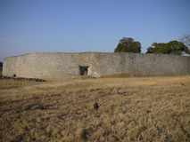 Great Zimbabwe ruins. Part of the great Zimbabwe ruins royalty free stock image