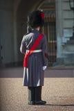 Greatcoat da portare di inverno della protezione del granatiere Fotografia Stock