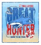 Greate hunter shark vector illustration Stock Photo