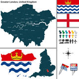 Greater London, UK Royalty Free Stock Image