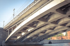 Greater Moscow River bridge Royalty Free Stock Photography