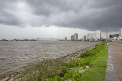The Greater New Orleans Bridge & New Orleans Stock Photography
