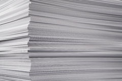 Greater pile of a paper Stock Photo
