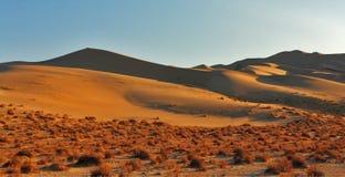 The greater sandy dune Eureka on sunrise Royalty Free Stock Image