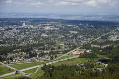 Greater Vancouver - Surrey Royalty Free Stock Image