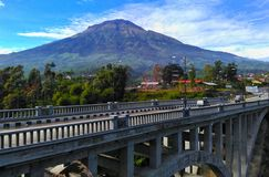 Greates mount sumbing Stock Image