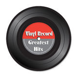 Greatest hits vinyl record Royalty Free Stock Images