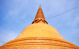 THE GREATEST PAGODA OF THAILAND Stock Image