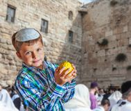 The greatest shrine of Judaism Royalty Free Stock Photos