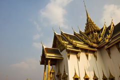 Greatest temple in Thailand (Phra Kaew Temple) Royalty Free Stock Photo