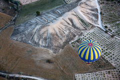 The greatest tourist attraction of Cappadocia , the flight with the balloon at sunrise Stock Photo