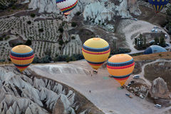 The greatest tourist attraction of Cappadocia Stock Images