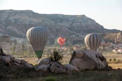 The greatest tourist attraction of Cappadocia , Royalty Free Stock Images