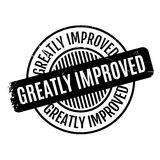 Greatly Improved rubber stamp Royalty Free Stock Photography