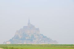 Greatness of Mont Saint Michel Royalty Free Stock Images