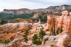 The greatness of nature, Bryce Canyon National Park,  Utah,  USA. Bryce Canyon National Park,View of the horse trail, Utah, USA Stock Photography