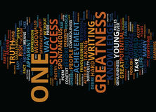 Greatness Text Background Word Cloud Concept Royalty Free Stock Image