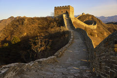 The greatwall Royalty Free Stock Photography