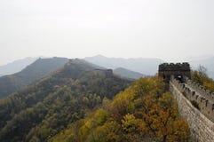 Greatwall bei Mutianyu, Peking stockbilder