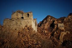 Greatwall in china   (2) Royalty Free Stock Photography