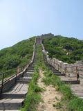 The greatwall in china Royalty Free Stock Photo