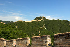 Greatwall. China beijing badaling shuiguan greatwall Royalty Free Stock Images