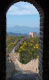 Greatwall. It is the greatwall of JinShanLing Royalty Free Stock Photography