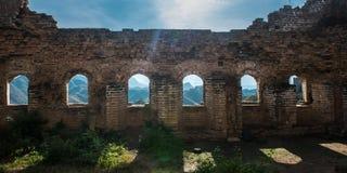 Greatwall okno Fotografia Royalty Free