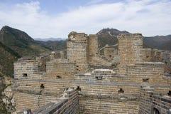 greatwall ruiny Zdjęcia Royalty Free