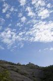 Greatwall unter blauem Himmel stockfotografie