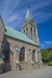 Grebbestads church, north-east stock image