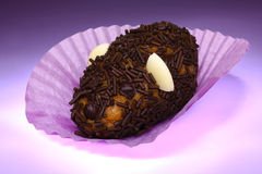 Grebeaud chocolate chip cookie mouse Royalty Free Stock Image