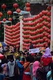 Grebeg文化传统苏迪罗 免版税库存照片