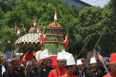 Grebeg Besar Celebration Royalty Free Stock Photos