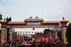 Grebeg cultural traditions Sudiro Royalty Free Stock Photo