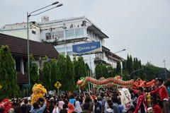 Grebeg cultural traditions Sudiro Stock Images