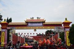 Grebeg culturele tradities Sudiro Royalty-vrije Stock Foto