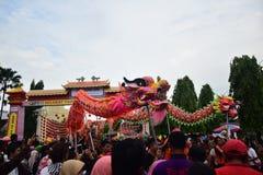 Grebeg culturele tradities Sudiro Stock Afbeelding