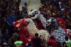 Grebeg culturele tradities Sudiro Stock Afbeeldingen