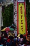 Grebeg culturele tradities Sudiro Stock Foto