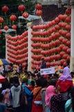 Grebeg culturele tradities Sudiro Royalty-vrije Stock Foto's