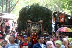 Grebeg syawal ritual Royalty Free Stock Photos