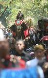 Grebeg syawal ritual Royalty Free Stock Photo