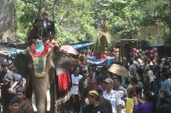 Grebeg syawal ritual Stock Image