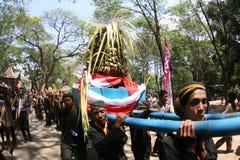 Grebeg syawal ritual Stock Photo