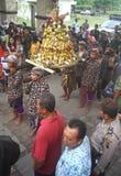 Grebeg syawal ritual Royalty Free Stock Image